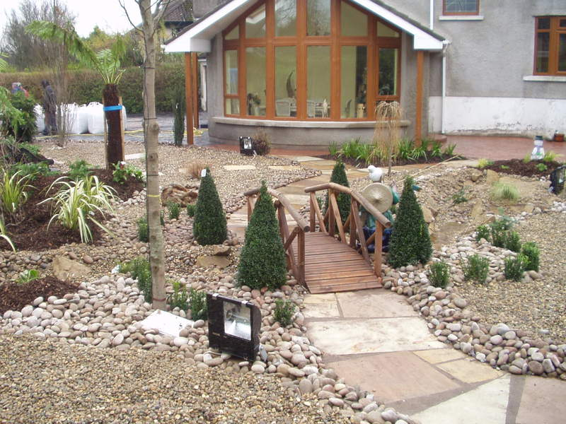 Camellia landscaping service patio construction garden - Free garden plans ireland ...