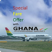 Flights to Accra from London
