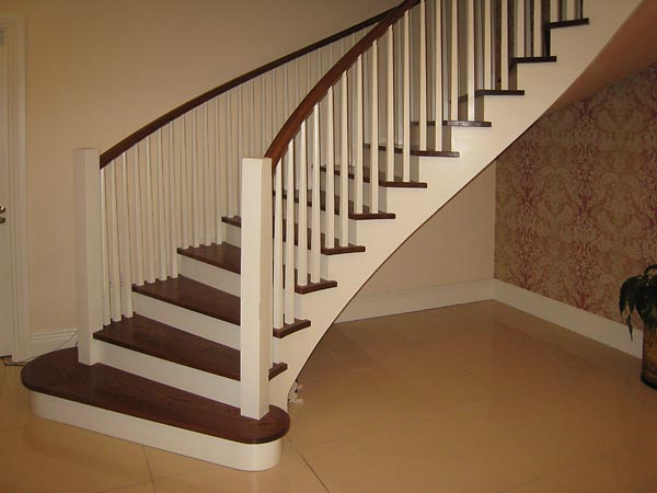 Curved Handrail For Stairs