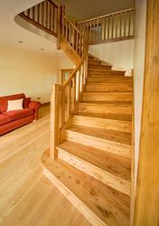 The Woodworks Joinery services,  curved and spiral stairs. Free Quote