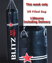 ONE Week Only 5ft Blitz Punch Bag (120 euro Delivered to your door)