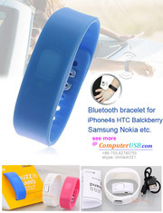 Bluetooth Bracelet Buzz Band Incoming Call Alarm Band