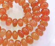 Natural Carnelian Gemstone Beads Jewelry