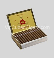Authentic Cuban Cigars - Box 25 Montecristo No. 4 -www.vipcubancigars.