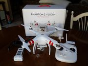 DJI Phantom 2 Vision+ Quadcopter with FPV HD Video Camera