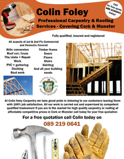 Carpenter Services In Cork