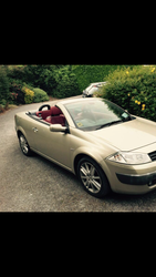 FOR SALE: 2005 Renault Megane Cabriolet