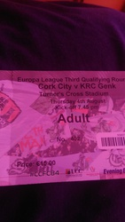 cork city v genk tickets