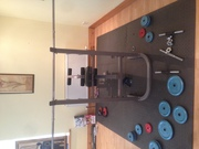 I have a bench weight Machine also works on legs as well as dumbbells