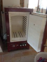 Kiln for sale - Cromartie CR130 single phase + controller and shelves