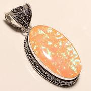 Australian triplet opal pendant, 925 sterling silver