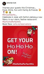 A Christmas Venue -Soho Entertainment venues cork
